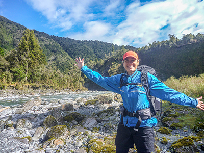 West Coast tramping experience great way to prep for the conference