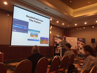 Queensland Teams Raise the HealthPathways Flag at myPHN Conference
