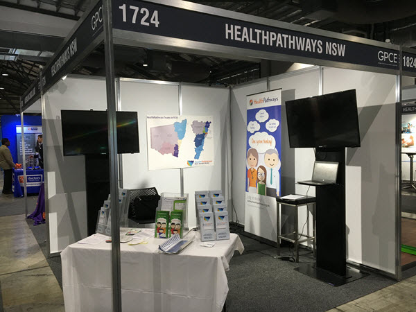 NSW HealthPathways regions showcase at the GPCE Conference