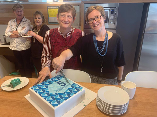 Three cake celebration - Tasmania HealthPathways turns Five