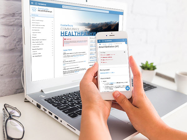 Great response to mobile-friendly HealthPathways