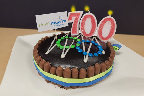 700 localised pathways for HealthPathways Melbourne